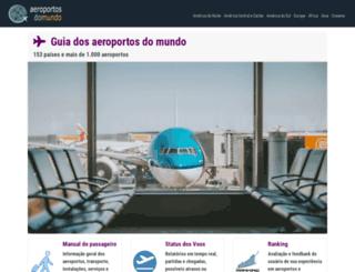 aeroportosdomundo.com screenshot