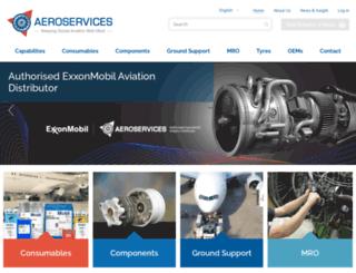 aeroservicesltd.com screenshot