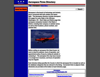 aerospace.regionaldirectory.us screenshot