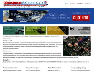 aerospaceelectronics.com screenshot