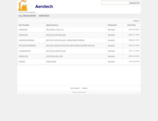 aerotech.industry-server.com screenshot