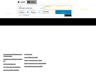 aerovesseltravels.com screenshot