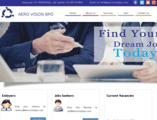 aerovisionbpo.com screenshot