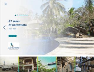 aerowisata.com screenshot