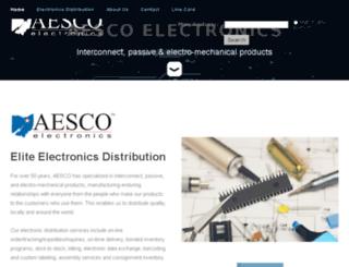 aesco.com screenshot