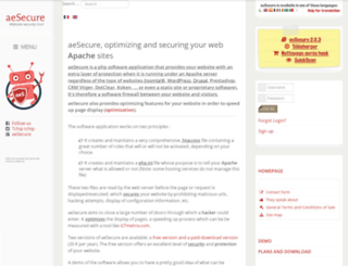 aesecure.com screenshot