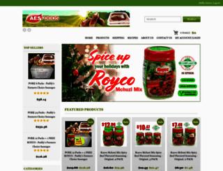 aesfoods.com screenshot
