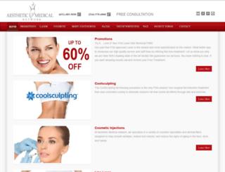 aestheticmedicalnetwork.com screenshot