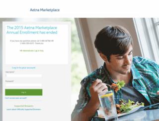 aetnainc.hrintouch.com screenshot