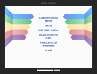 aeva-ro.com screenshot