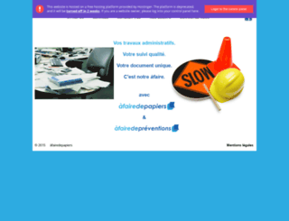 afairedepapiers.com screenshot