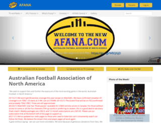 afana.com screenshot