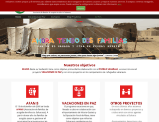 afanis.org screenshot