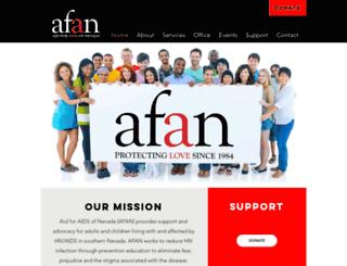 afanlv.donordrive.com screenshot