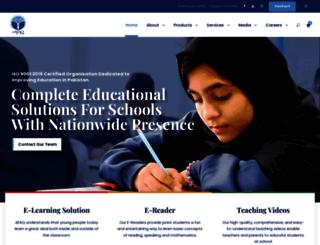 afaq.edu.pk screenshot