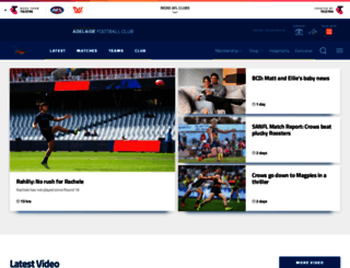afc.com.au screenshot