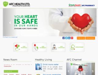 afchealth.net screenshot