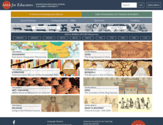 afe.easia.columbia.edu screenshot