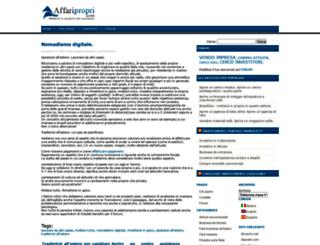 affaripropri.com screenshot