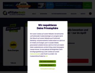 affiliate-people.de screenshot
