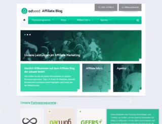 affiliate.dorst-emarketing.de screenshot