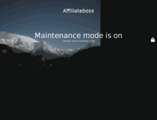 affiliateboss.com screenshot