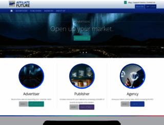 affiliatefuture.com screenshot