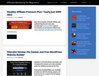 affiliatemarketingtrainings.org screenshot