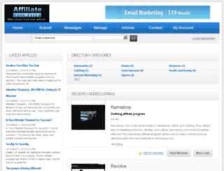 affiliatematch.com screenshot