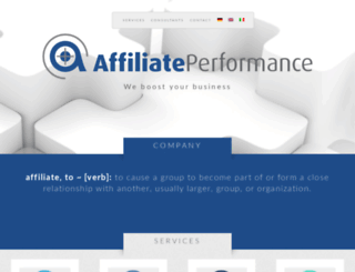 affiliateperformance.de screenshot