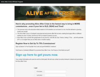 affiliates.aliveaftercrisis.com screenshot