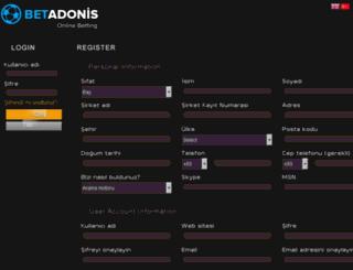 affiliates.betadonis.com screenshot