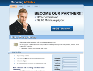 affiliates.marketing4campaign.com screenshot