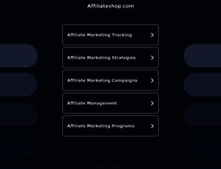 affiliateshop.com screenshot
