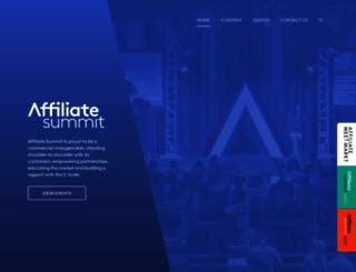 affiliatesummit.com screenshot