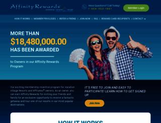 affinityrewards.net screenshot