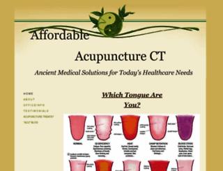 affordableacupuncturect.com screenshot