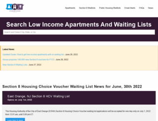 affordablehousingonline.com screenshot