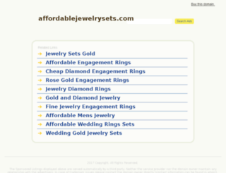affordablejewelrysets.com screenshot