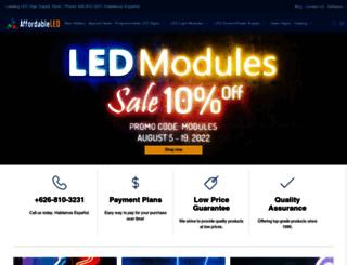 affordableled.com screenshot