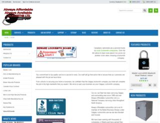 affordablelocksmiths.com screenshot