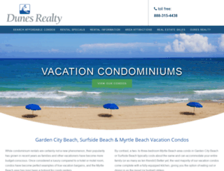 affordablemyrtlebeachcondos.com screenshot