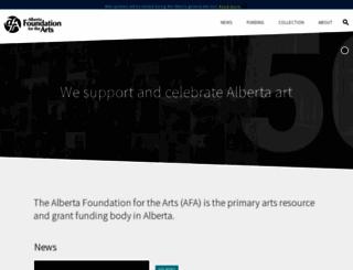 affta.ab.ca screenshot