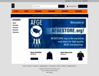 afgestore.org screenshot