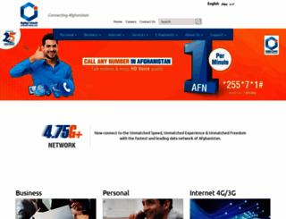 afghan-wireless.com screenshot