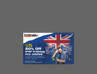 afi-uplift.co.uk screenshot