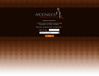 aficionados.co.za screenshot