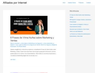 afiliadosporinternet.com screenshot
