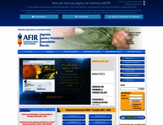 afir.info screenshot