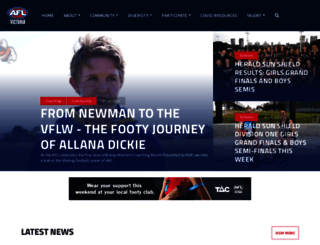 aflvic.com.au screenshot